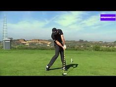 The best golf swing slow motion - online golf lesson - YouTube