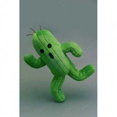 The adorable, but powerful enemy you love to hate, Cactuar now take shape as aharmless plush doll! Unusually cuddly Cactuar is frozen in his signature running pose. Approximately X X Manufacturer: Square Enix. ©SQUARE ENIX CO. Final Fantasy Merchandise, Anime Merchandise, Plush Dolls, Doll Toys, Diy Pest Control, Bug Control, Organic Weed Control, Garden Supply Online, Smart Art