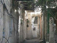 A small street in the Shteibelach