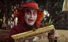 johnny depp alice in the wonderland looking glass - Google Search