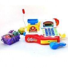 Simulation of supermarket cash register / calculate the cash register