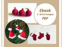 Häkelanleitung Weihnachten, Ebook häkeln PDF