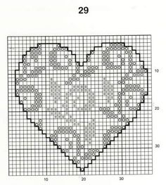 HOJAS Cross Stitch Patterns Free Easy, Wedding Cross Stitch Patterns, Free Cross Stitch Charts, Simple Cross Stitch, Cross Stitch Heart, Counted Cross Stitch Patterns, Cross Stitch Designs, Cross Stitch Embroidery, Cross Stitches