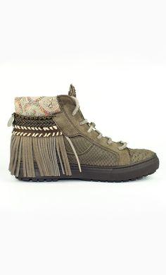 Sneaker EMONK IBIZA Marron Talla 38