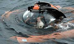 Putin realizó una expedición submarina