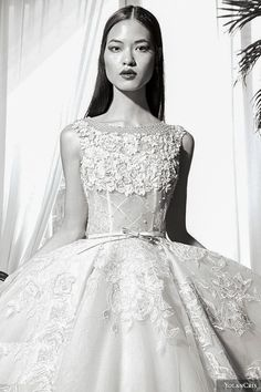 Gorgeous lace....YolanCris 2016 wedding gown - love this one!