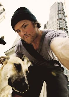 Jared Padalecki. *Breathing and heart stutters*