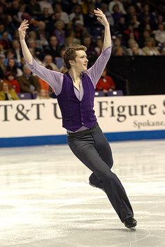 Jeremy Abbott  - Men's Figure Skating / Ice Skating dress inspiration for Sk8 Gr8 Designs.