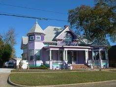 A Big Purple House by jimmywayne, via Flickr