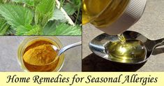 Home remedies for allergies essentially fall into two types - those which remove the allergens from the air (or from the nasal pasages!) and those that modify the body's response... [read more]