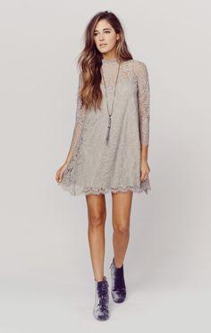 LINDY LACE DRESS