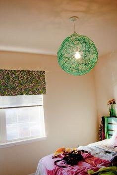 Spherical Pendant Lamp DIY