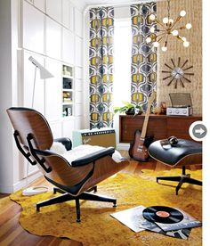 Retro chic.  Eames Chair.  Style At Home.