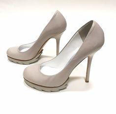 eb33531c12a Camilla Skovgaard Stiletto Heels Nude Platform Pumps Shoes Neutral Size 37  US 6  CAMILLASKOVGAARD