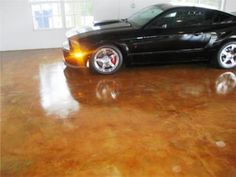 Household Hints Acid Stained Concrete Garage Floor A Healthy Diet Check Up. Concrete Overlay, Stamped Concrete, Polished Concrete, Concrete Rose, Concrete Garages, Concrete Floors, Concrete Resurfacing, Concrete Staining, Vinyl Sheet Flooring