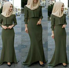 IG: hijab_is_my_diamond_official IG: hijab_is_my_diamond_official Hijab Outfit, Hijab Gown, Hijab Dress Party, Islamic Fashion, Muslim Fashion, Modest Fashion, Fashion Dresses, Mode Abaya, Mode Hijab