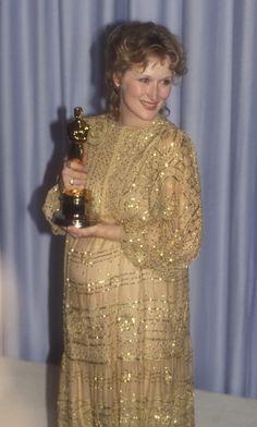Meryl Streep. 1982 Best Actress // Sophie's Choice