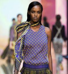 """my style ?? Mode printemps été 2015 :   tendance à suivre ! la mode """"foulard""""  (Just Cavalli) - Cosmopolitan.fr"""