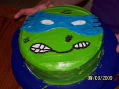 Glenn Jr's. Ninja Turtle Birthday Cake I made him.