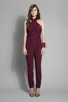 RUBY | SS12 Lookbook - Bonbon Pantsuit, Taylor Cuff. Cannot wait for this!