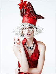 Aline Weber for Vogue Brasil December 2013 by Zee Nunes