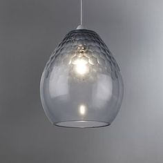 Structured with a curved design complemented by a faceted effect, this ceiling light pendant is made from glass in a duck egg blue colour. Pendant Lighting Bedroom, Kitchen Pendant Lighting, Glass Pendant Light, Faceted Glass, Glass Pendants, Pendant Lights, Glass Ceiling Light Shades, Glass Ceiling Lights, Glass Shades
