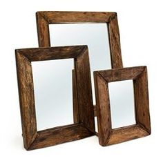 Jackson Mirror Set of 3 (491562188), Eco Friendly Home Decor Accents | Decorative Home Accents | Contemporary Home Accents