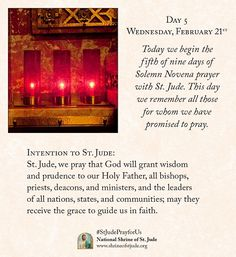 Spring 2018 Solemn Novena meditations for devotees of the National Shrine of St. Jude - National Shrine of St. St Jude Prayer, Prayer For You, Pray For Us, Novena Prayers, Mom Prayers, Prayers For Healing, The Eighth Day, We Remember, Trust God