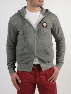 MARINA MERCANTILE - Ζακέτα με κουκούλα Hooded Jacket, Athletic, Sweaters, Jackets, Style, Fashion, Jacket With Hoodie, Down Jackets, Swag