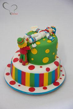 Patati Patata Circus Cakes, Cupcake, Fondant Tutorial, Childrens Party, 2nd Birthday, Oreo, Bolo Fake, Sweet, Desserts