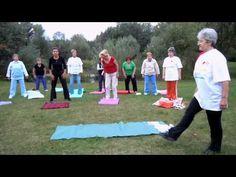 Kínai meridiántorna - YouTube Leslie Sansone, Tai Chi, Beach Mat, Health Tips, Outdoor Blanket, Exercise, Youtube, Sport, Ejercicio