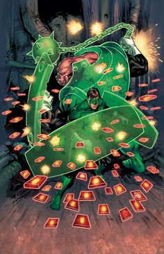 Green Lantern by Billy Tan