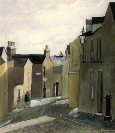 John Knapp-Fisher: Cresswell Street Tenby 1998