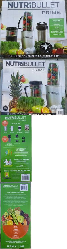 Blenders Countertop 133704: Nutribullet Prime 12 Piece Set 1000W. -> BUY IT NOW ONLY: $92.98 on eBay!