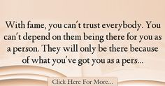 Chris Brown Quotes About Trust - 69969