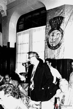 Comedor de la estacion 1975 Estación y ferrocarril en Canfranc. Productor: Sancho Ramo, Gerardo Ayuntamiento de Zaragoza. Archivo Municipal