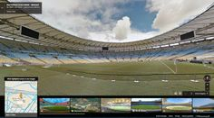 Brazil's World Cup Stadiums Added To Google Street View