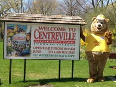 Beasley Bear's Teddy Bear Picnic with Free Ferry and Pizza Offer from Centreville - Toronto4Kids - May 2016