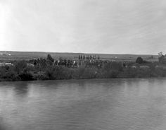 Custer Battlefield, Reno ford of the Little Big Horn, 1886 :: Western History