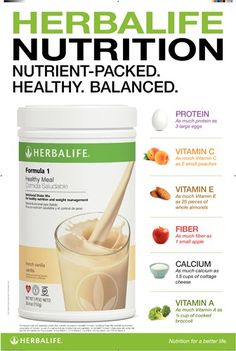 Nutrition Club Poster 24x36 - Herbalife Nutrition