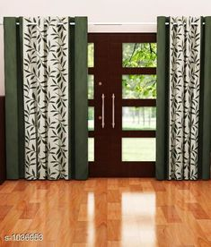 Curtains & Sheers Polyester Printed Door Curtains   *Material* Polyester  *Dimension* ( L X W ) - Curtains - 7 Ft X 4 FT  *Type* Stitched  *Description* It Has 2 Piece Of Door Curtain  *Work* Printed  *Sizes Available* Free Size *   Catalog Rating: ★4 (802)  Catalog Name: Royal Polyester Printed Door Curtains Vol 2 CatalogID_125608 C54-SC1116 Code: 943-1036953-