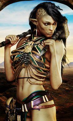 Female Orc by Erynn83 on DeviantArt