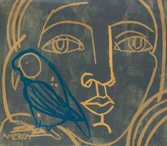 Blue Bird by America Martin