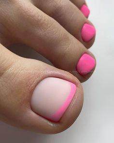 Pretty Toes, Pretty Nails, Chrome Nail Art, French Acrylic Nails, Nails Only, Toe Nail Designs, Mani Pedi, Nails On Fleek, Toe Nails