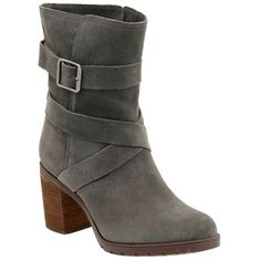 f187dc5a7e9b Women s Clarks  Malvet Doris  Moto Boot ( 160) ❤ liked on Polyvore featuring