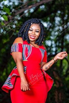 High Waisted Full Flare Dress – Styles By Tumi Venda Traditional Attire, Setswana Traditional Dresses, South African Traditional Dresses, Traditional Fashion, Latest African Fashion Dresses, African Print Dresses, African Dress, African Outfits, African Wear