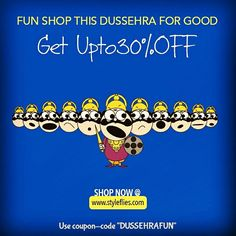 Happy Dussehra to all you wonderful people :)