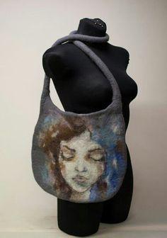 #felt #bag #art