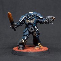 Warhammer Armies, Warhammer 40k Figures, Warhammer Paint, Warhammer Models, Warhammer 40k Miniatures, Warhammer 40000, Sci Fi Miniatures, Marine Colors, Tyranids