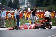 Jacky Ickx (Ferrari) Grand Prix de Belgique - Spa Francorchamps 1970 - Formula 1 HIGH RES photos (Old and New) Facebook (2)